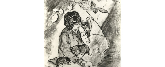 Person with Animals
